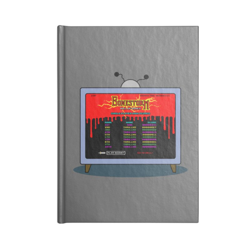 THRILLHO Accessories Blank Journal Notebook by Made With Awesome