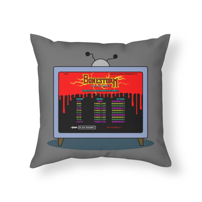THRILLHO Home Throw Pillow by Made With Awesome