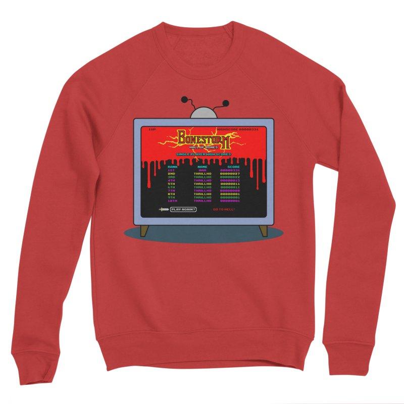 THRILLHO Women's Sponge Fleece Sweatshirt by Made With Awesome
