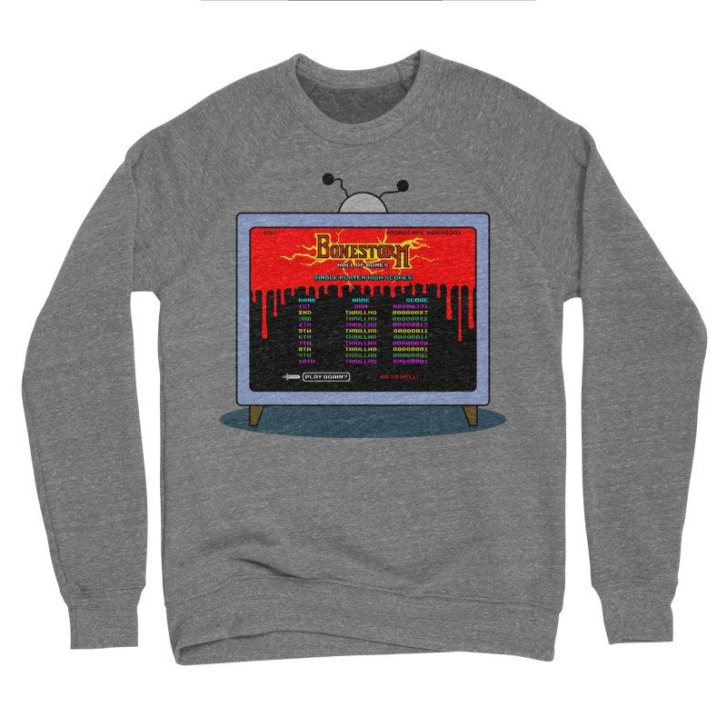 THRILLHO Men's Sponge Fleece Sweatshirt by Made With Awesome
