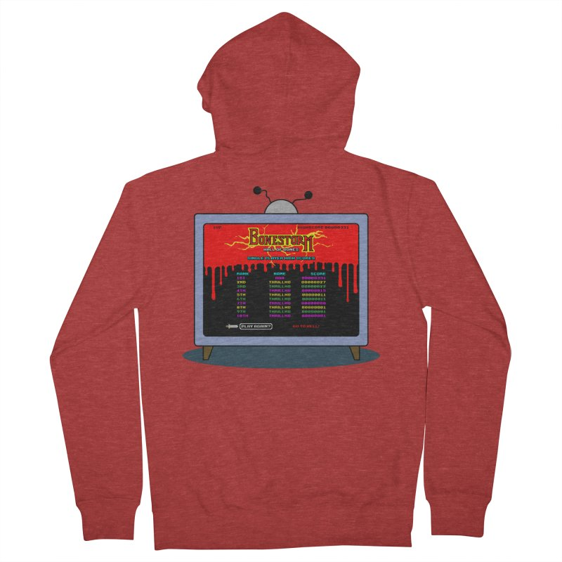 THRILLHO Men's Zip-Up Hoody by Made With Awesome