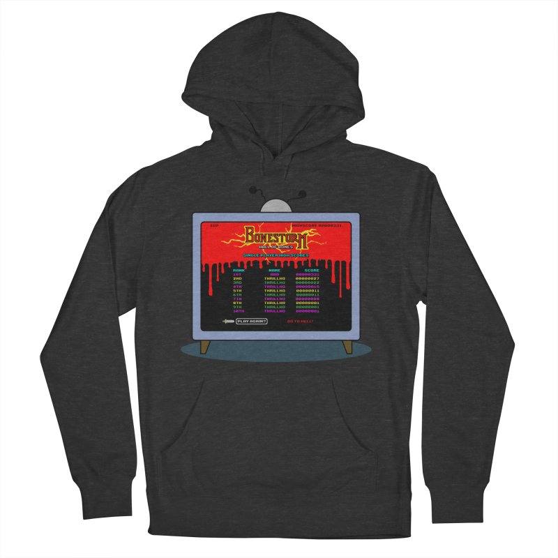 THRILLHO Men's French Terry Pullover Hoody by Made With Awesome