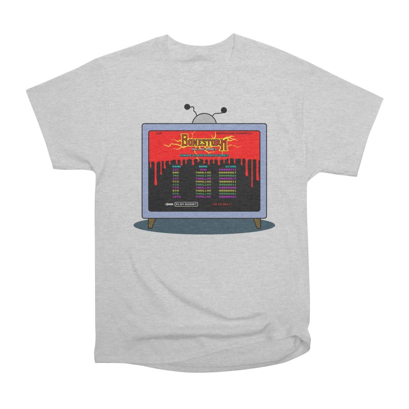 THRILLHO Men's Heavyweight T-Shirt by Made With Awesome