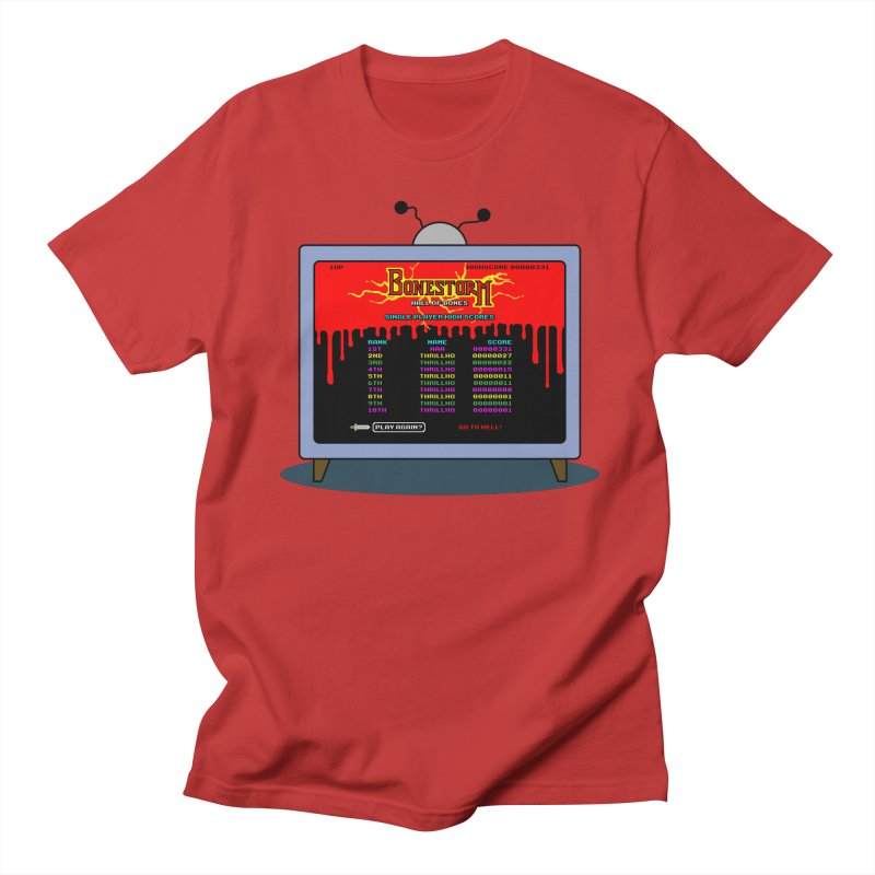 THRILLHO Men's Regular T-Shirt by Made With Awesome