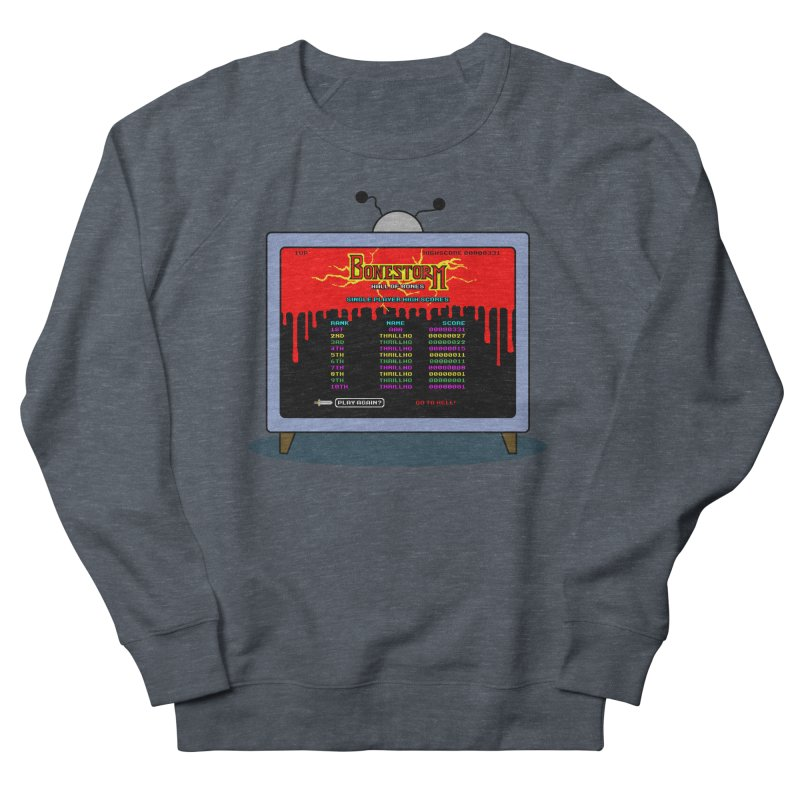 THRILLHO Men's French Terry Sweatshirt by Made With Awesome
