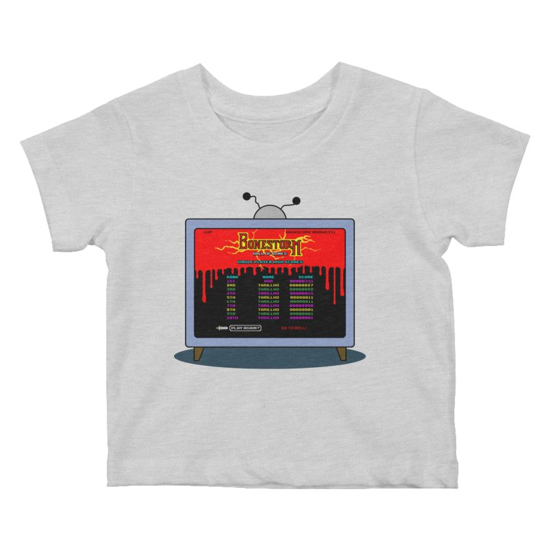 THRILLHO Kids Baby T-Shirt by Made With Awesome