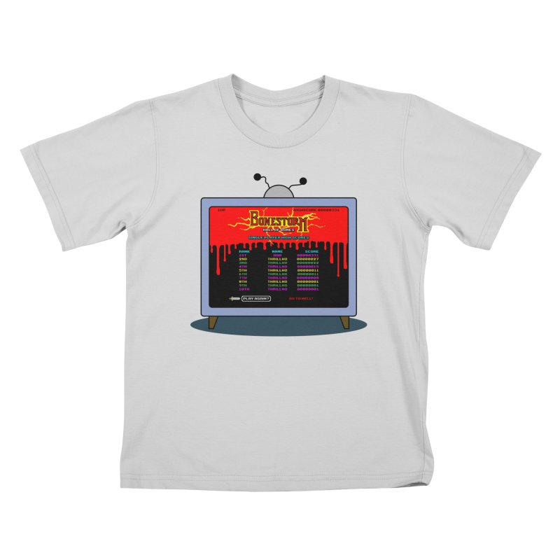 THRILLHO Kids T-Shirt by Made With Awesome