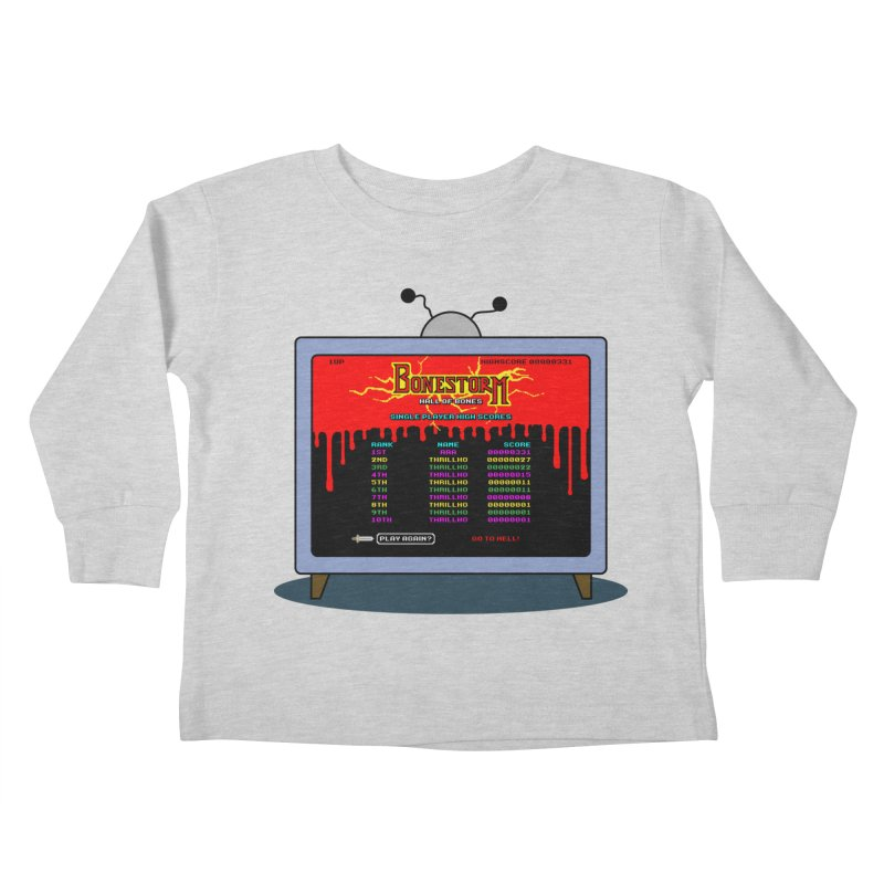 THRILLHO Kids Toddler Longsleeve T-Shirt by Made With Awesome