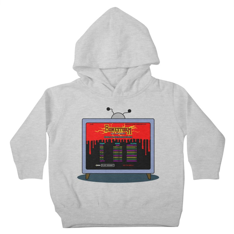 THRILLHO Kids Toddler Pullover Hoody by Made With Awesome