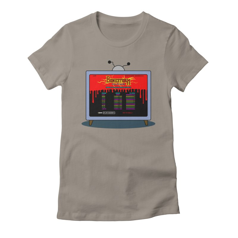 THRILLHO Women's Fitted T-Shirt by Made With Awesome
