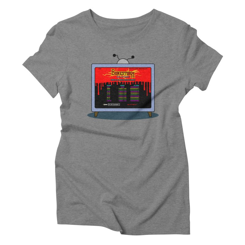 THRILLHO Women's Triblend T-Shirt by Made With Awesome