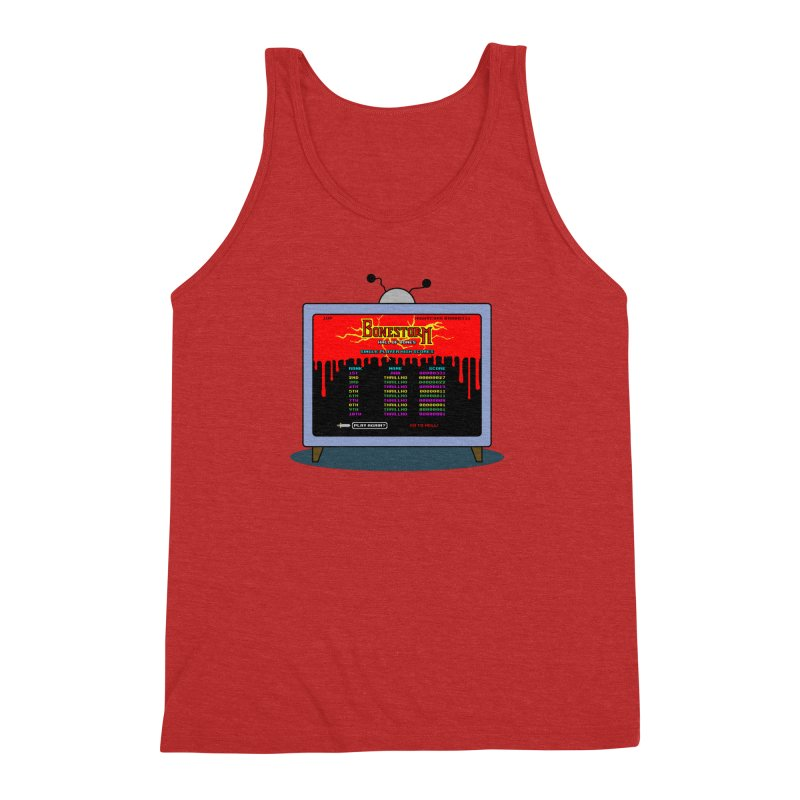 THRILLHO Men's Triblend Tank by Made With Awesome