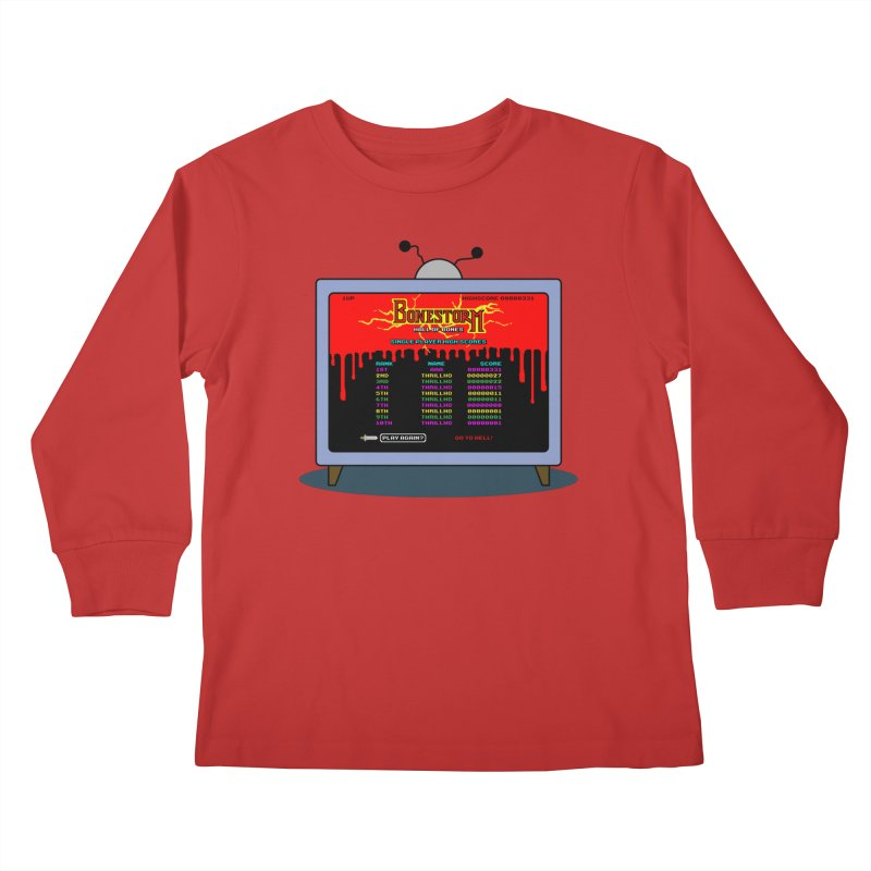 THRILLHO Kids Longsleeve T-Shirt by Made With Awesome
