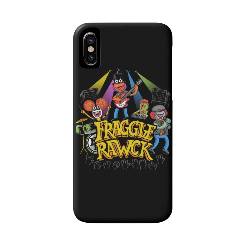 Fraggle RAWK Accessories Phone Case by Made With Awesome