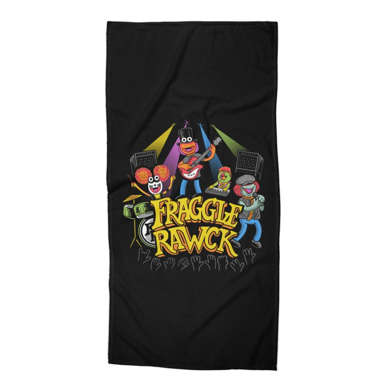 Fraggle RAWK Accessories Beach Towel by Made With Awesome