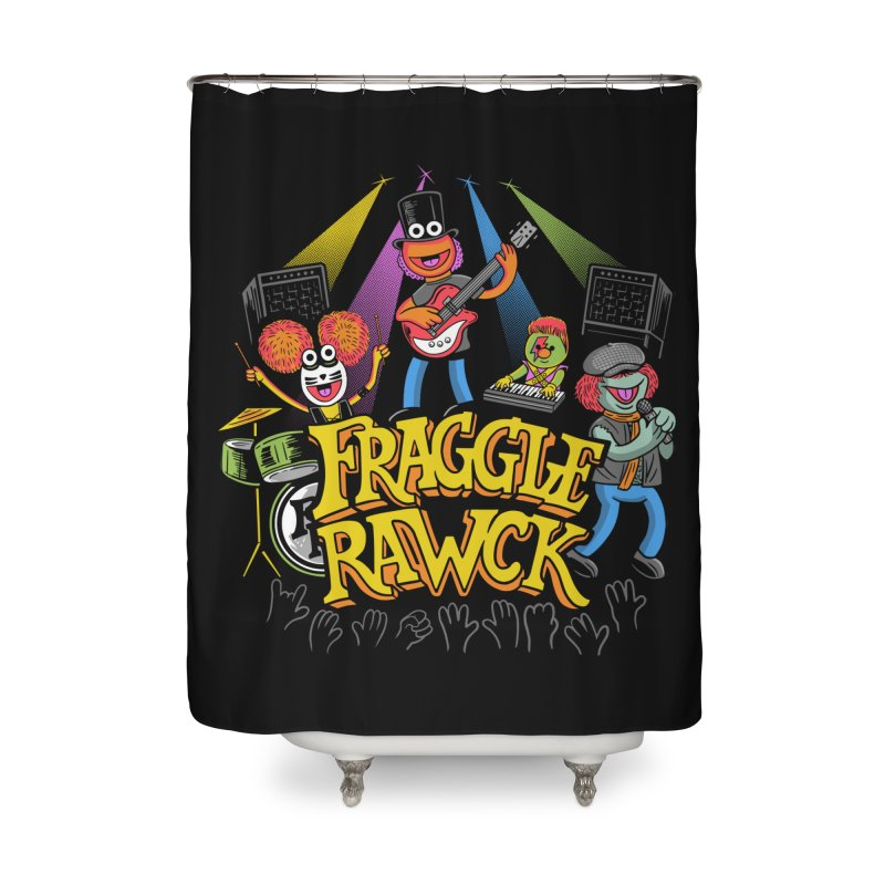 Fraggle RAWK Home Shower Curtain by Made With Awesome