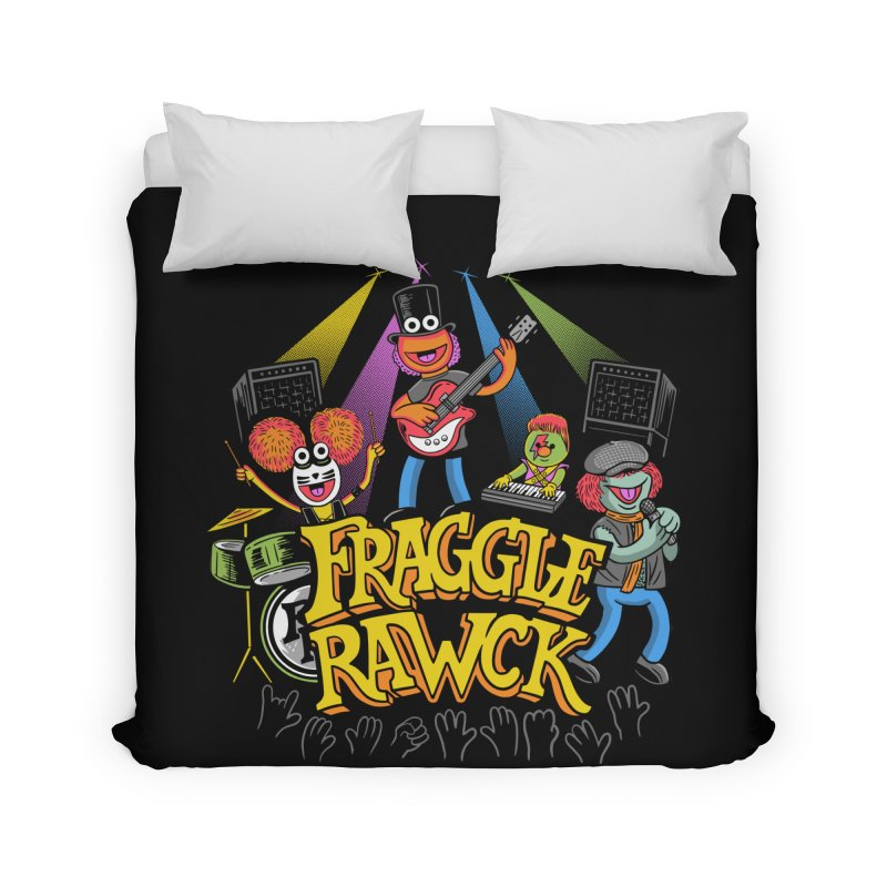 Fraggle RAWK Home Duvet by Made With Awesome