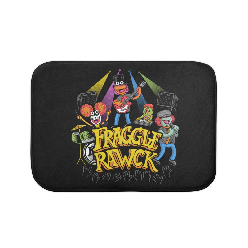 Fraggle RAWK Home Bath Mat by Made With Awesome