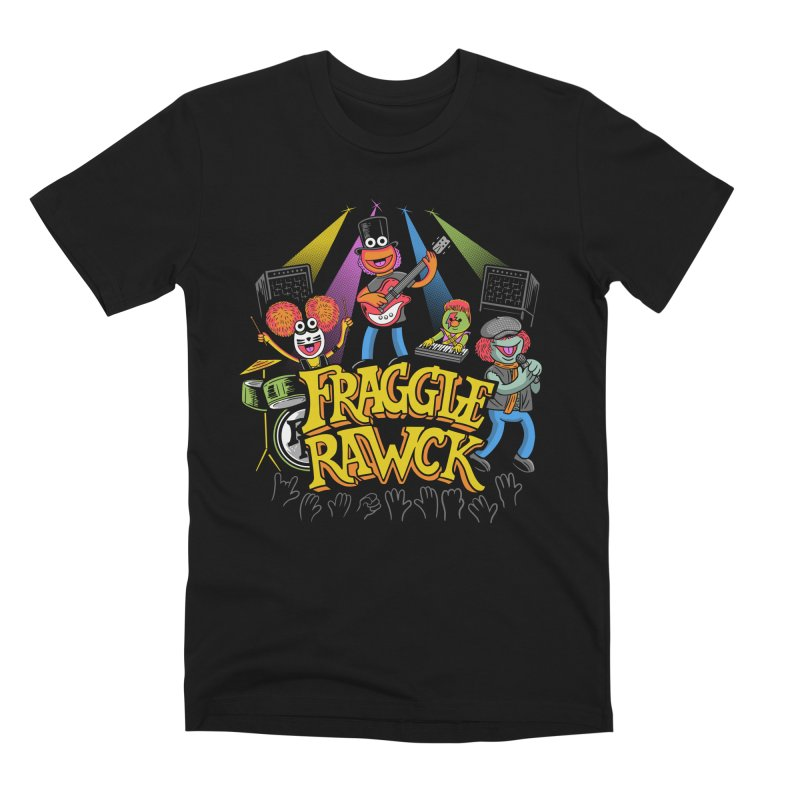 Fraggle RAWK Men's Premium T-Shirt by Made With Awesome