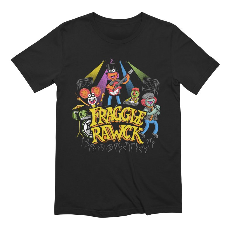 Fraggle RAWK Men's Extra Soft T-Shirt by Made With Awesome