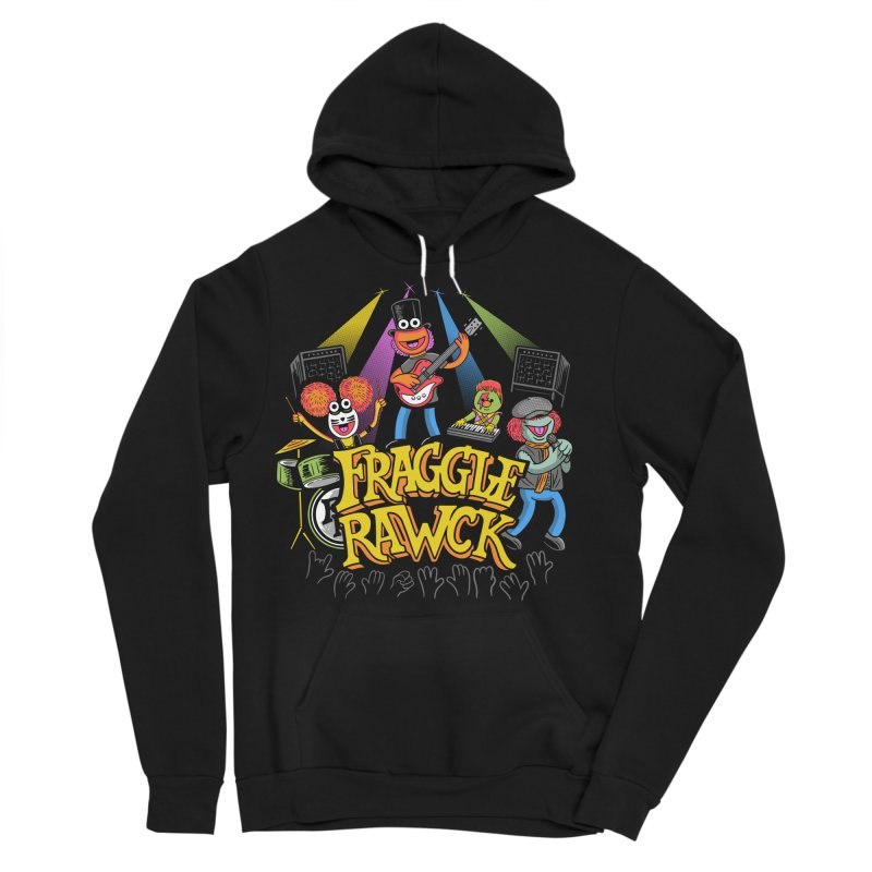 Fraggle RAWK Men's Sponge Fleece Pullover Hoody by Made With Awesome