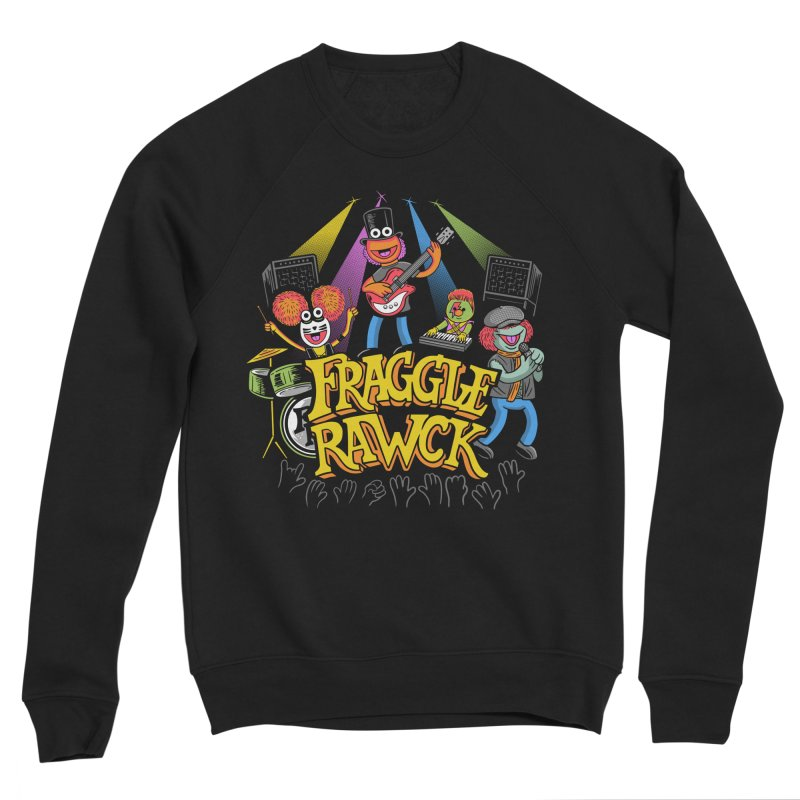 Fraggle RAWK Men's Sponge Fleece Sweatshirt by Made With Awesome