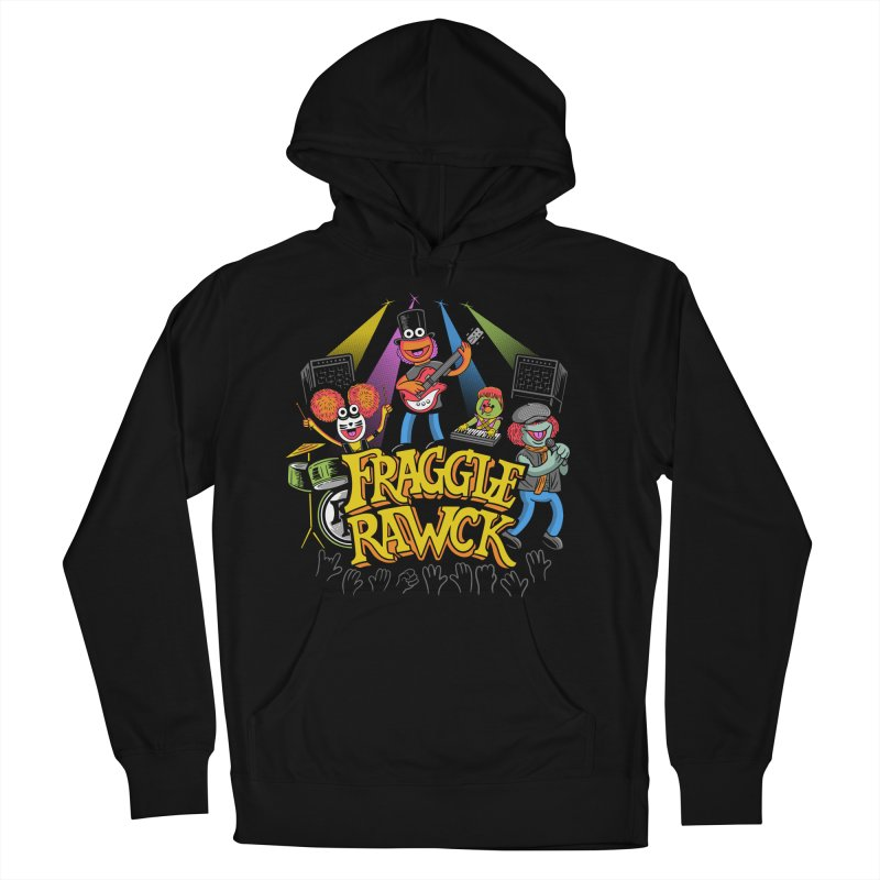 Fraggle RAWK Men's French Terry Pullover Hoody by Made With Awesome