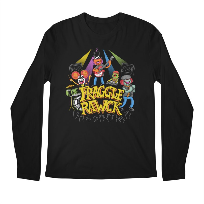 Fraggle RAWK Men's Regular Longsleeve T-Shirt by Made With Awesome