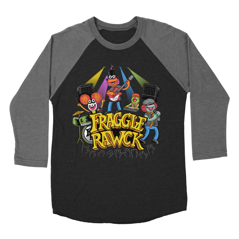 Fraggle RAWK Men's Baseball Triblend Longsleeve T-Shirt by Made With Awesome