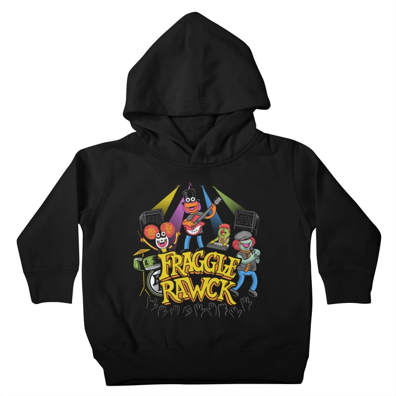Fraggle RAWK Kids Toddler Pullover Hoody by Made With Awesome
