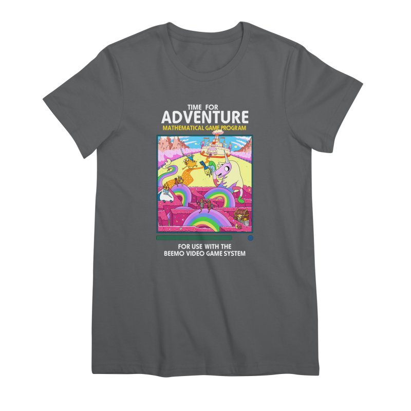 Time For Adventure Women's Premium T-Shirt by Made With Awesome