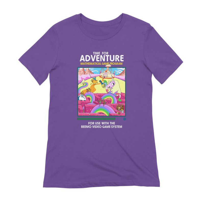 Time For Adventure Women's Extra Soft T-Shirt by Made With Awesome