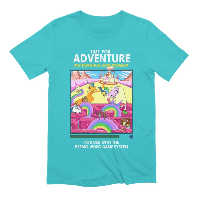Time For Adventure Men's Extra Soft T-Shirt by Made With Awesome