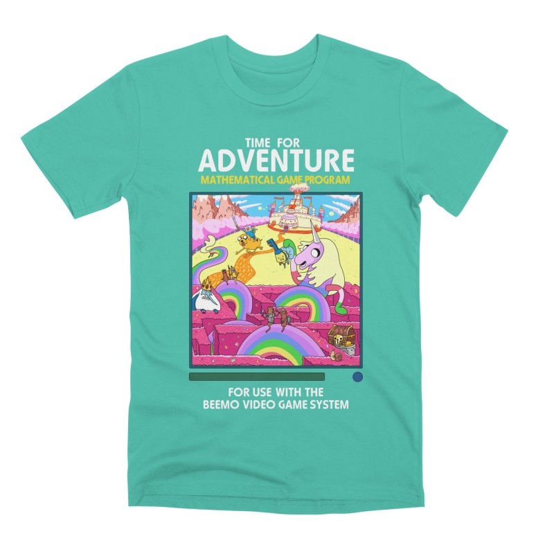 Time For Adventure Men's Premium T-Shirt by Made With Awesome
