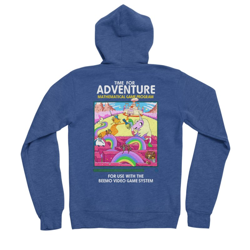 Time For Adventure Women's Sponge Fleece Zip-Up Hoody by Made With Awesome