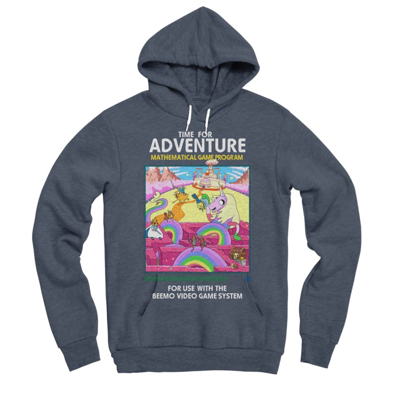 Time For Adventure Women's Sponge Fleece Pullover Hoody by Made With Awesome