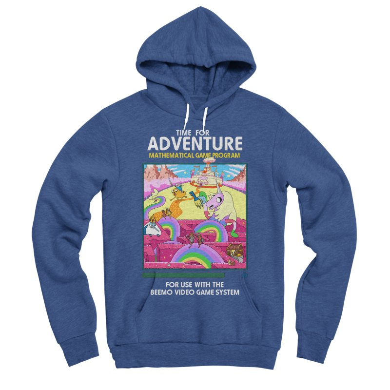 Time For Adventure Men's Sponge Fleece Pullover Hoody by Made With Awesome