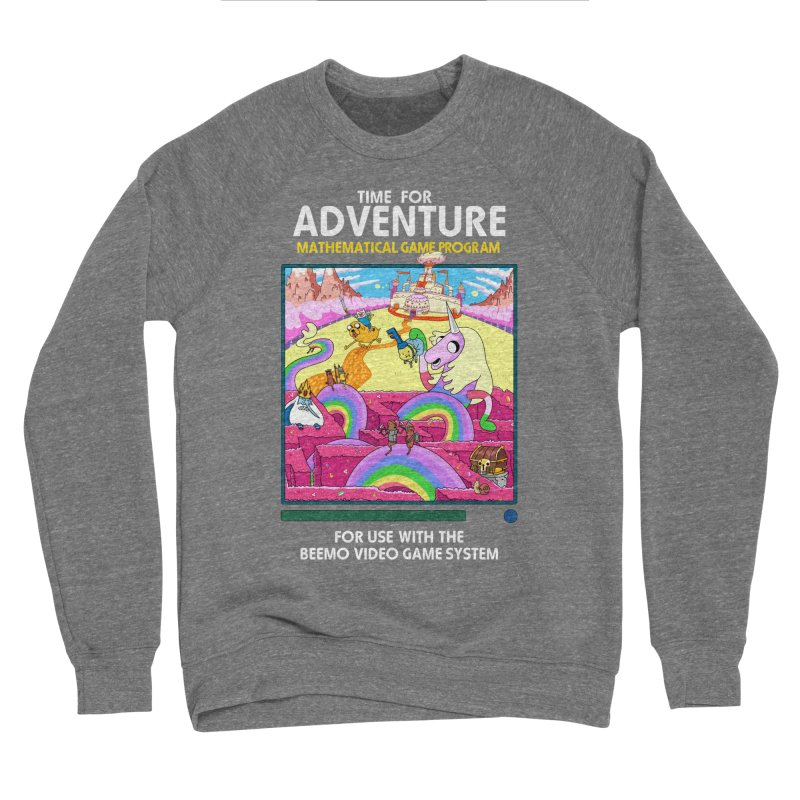 Time For Adventure Men's Sponge Fleece Sweatshirt by Made With Awesome