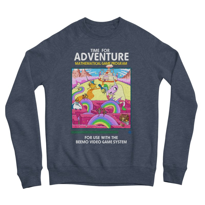 Time For Adventure Women's Sponge Fleece Sweatshirt by Made With Awesome