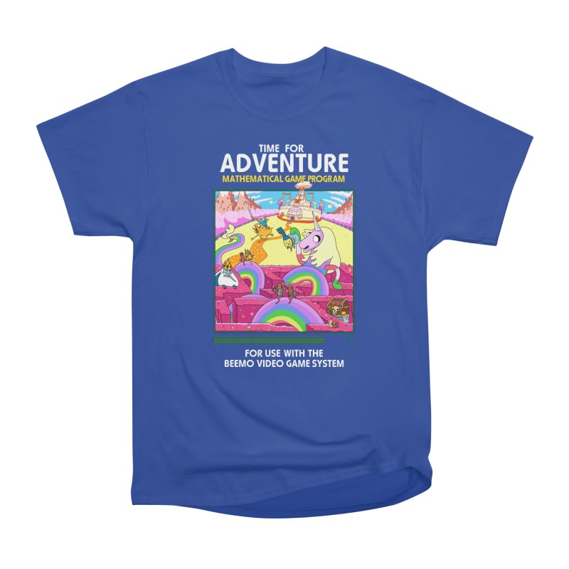 Time For Adventure Men's T-Shirt by Made With Awesome