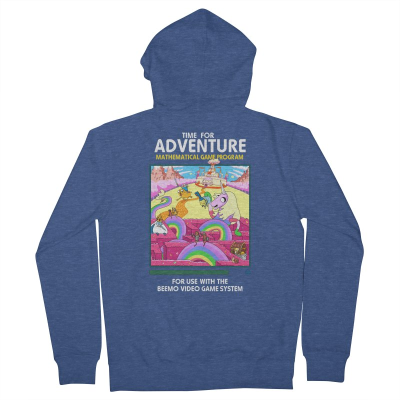 Time For Adventure Women's Zip-Up Hoody by Made With Awesome