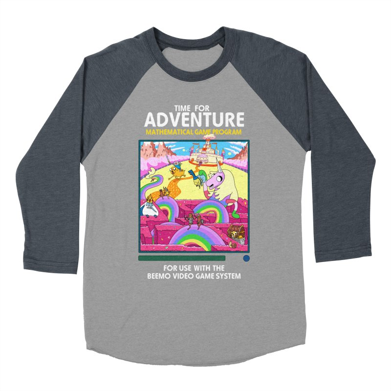 Time For Adventure Men's Longsleeve T-Shirt by Made With Awesome