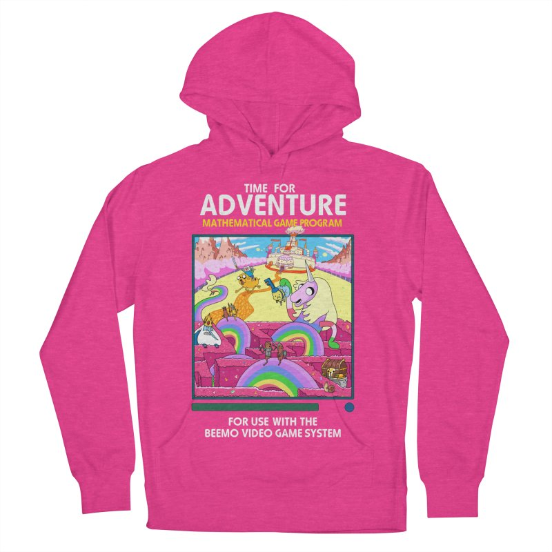 Time For Adventure Men's French Terry Pullover Hoody by Made With Awesome