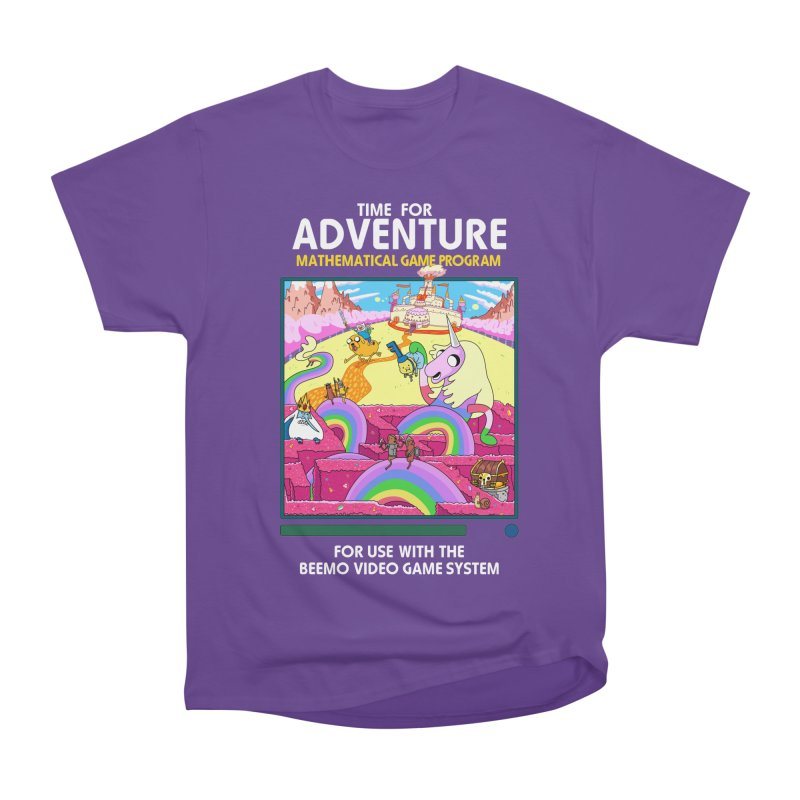 Time For Adventure Women's Heavyweight Unisex T-Shirt by Made With Awesome