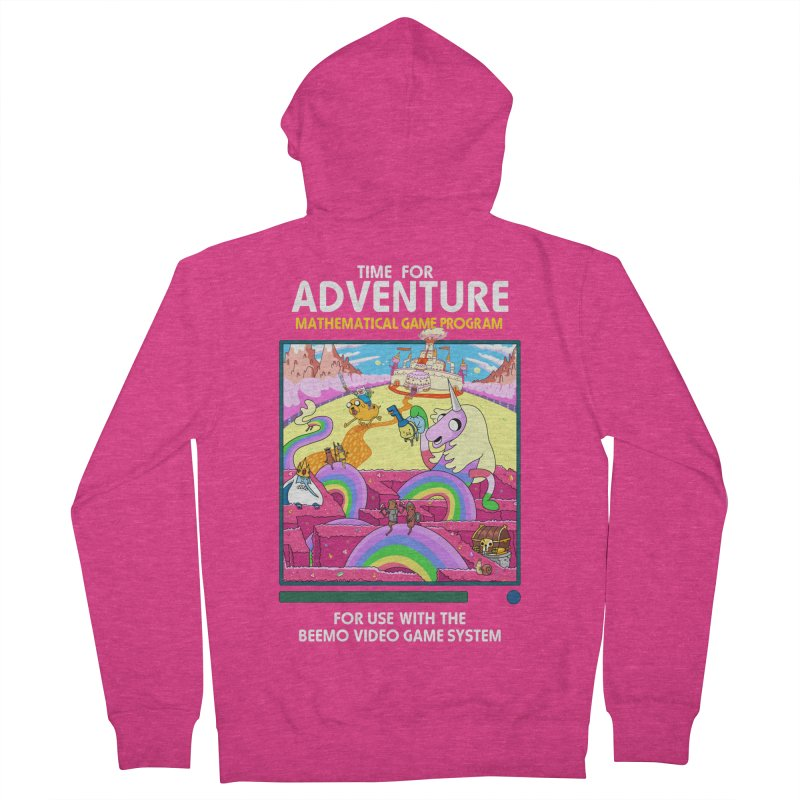 Time For Adventure Women's French Terry Zip-Up Hoody by Made With Awesome