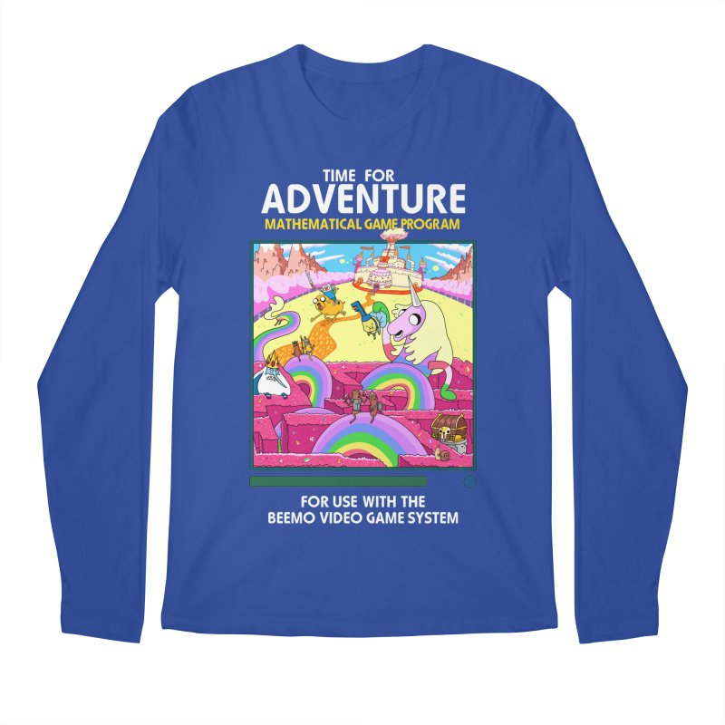 Time For Adventure Men's Regular Longsleeve T-Shirt by Made With Awesome