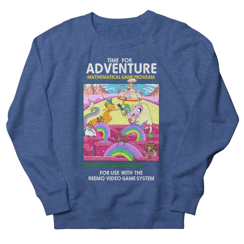 Time For Adventure Women's French Terry Sweatshirt by Made With Awesome