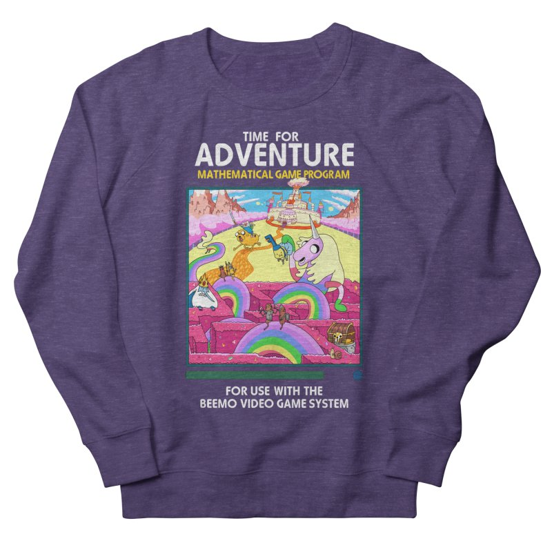 Time For Adventure Men's French Terry Sweatshirt by Made With Awesome