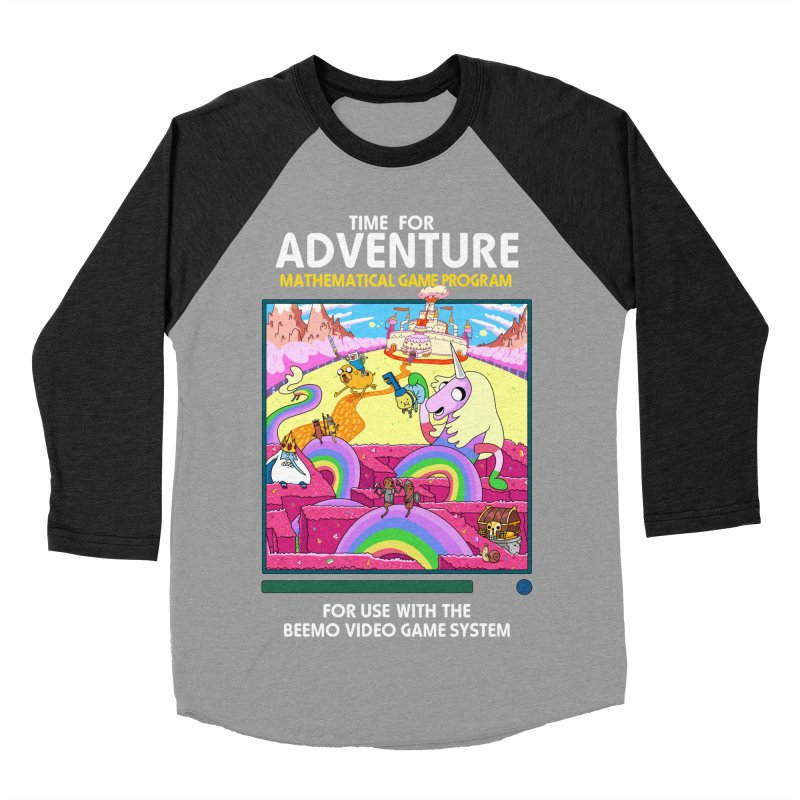 Time For Adventure Women's Baseball Triblend Longsleeve T-Shirt by Made With Awesome