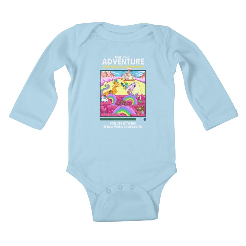Time For Adventure Kids Baby Longsleeve Bodysuit by Made With Awesome